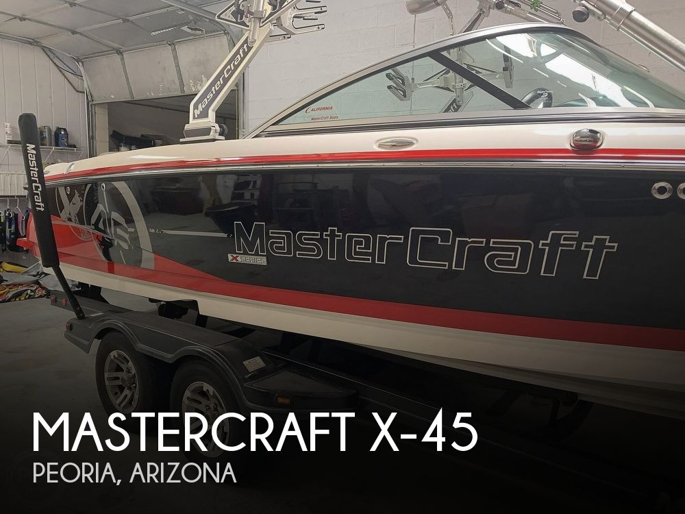 2010 Mastercraft boat for sale, model of the boat is X-45 & Image # 1 of 40