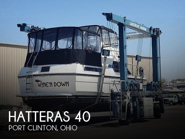 Used Motoryachts For Sale in Ohio by owner | 1988 Hatteras 40