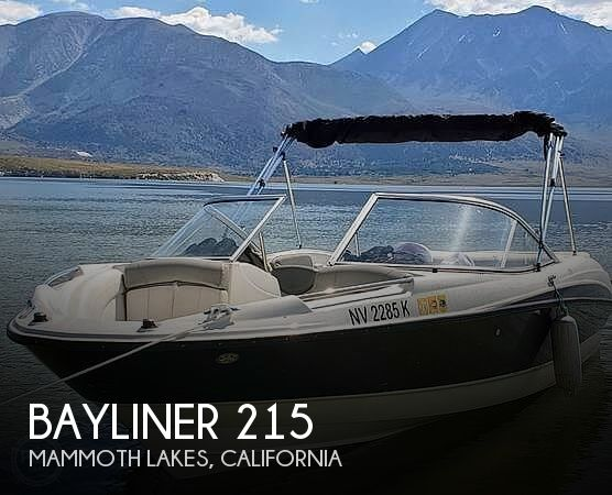 Used Bayliner Boats For Sale in Fresno, California by owner | 2012 Bayliner 215