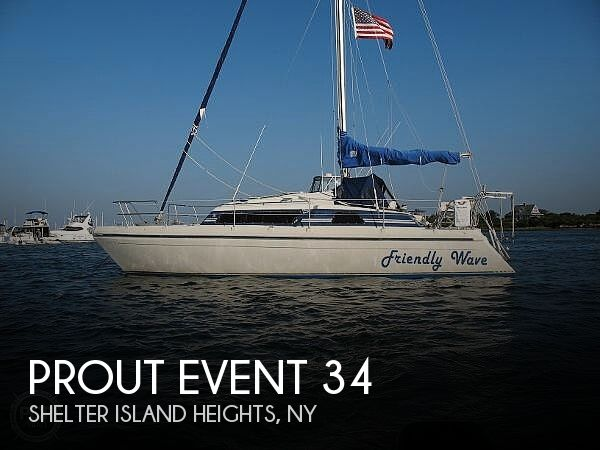 Used Boats For Sale in Providence, Rhode Island by owner | 1989 Prout Event 34