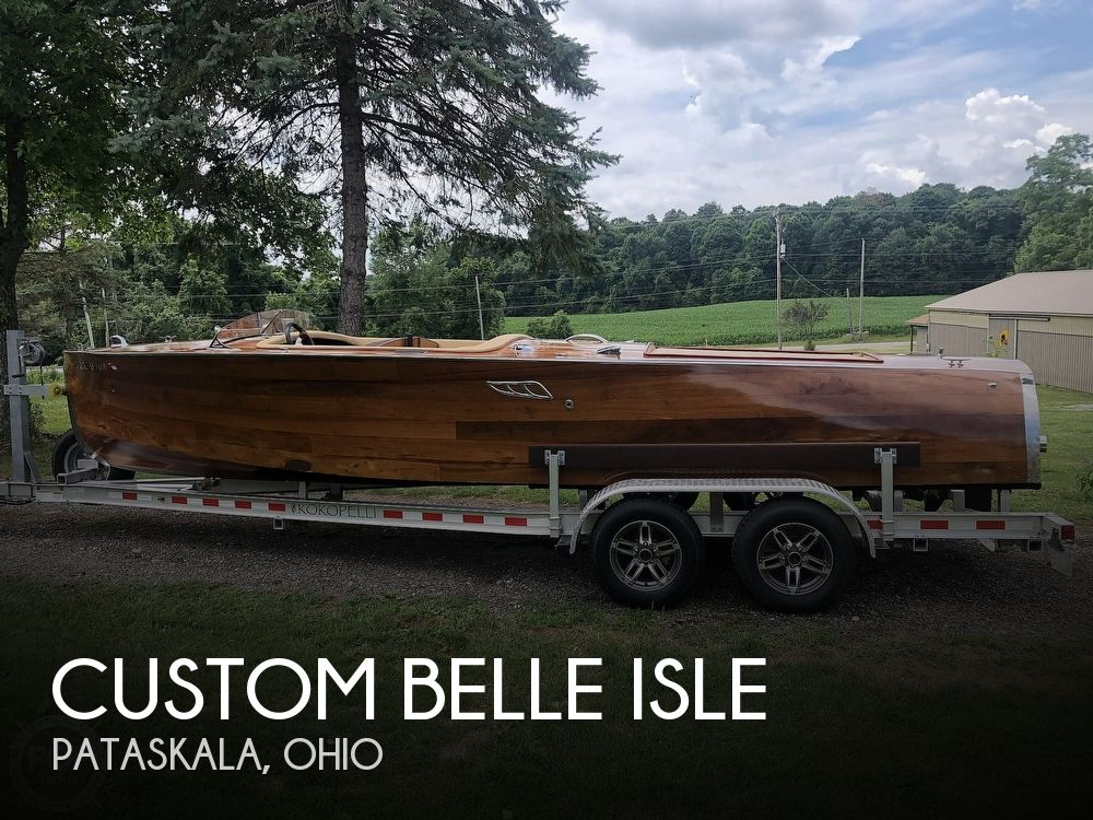 2014 Custom boat for sale, model of the boat is Belle Isle & Image # 1 of 40