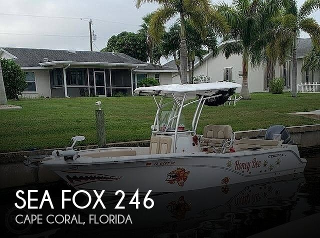 Used Sea Fox Boats For Sale by owner | 2018 Sea Fox 246 Commander