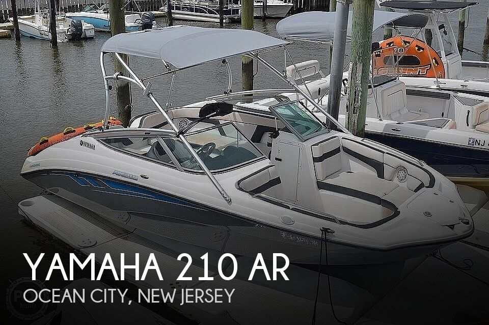 2015 Yamaha boat for sale, model of the boat is 210 AR & Image # 1 of 41