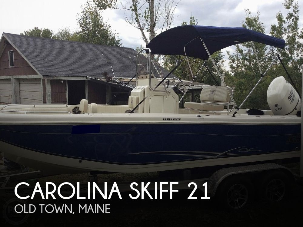 2018 Carolina Skiff boat for sale, model of the boat is 21 Ultra-Elite & Image # 1 of 40