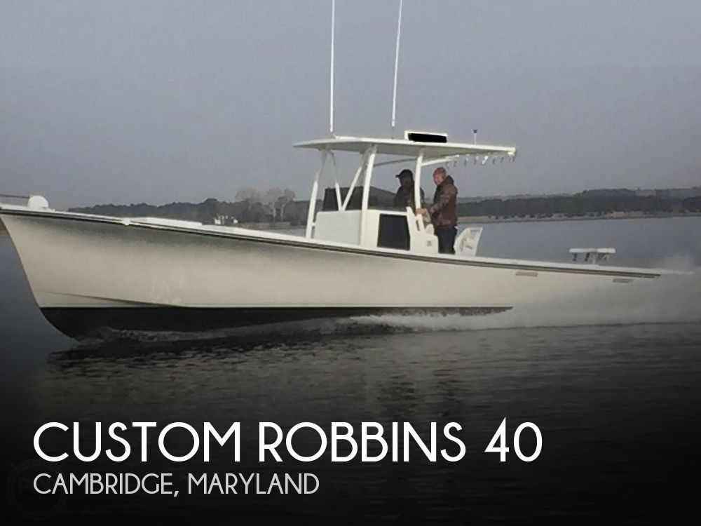 Used Power boats For Sale in Maryland by owner | 1999 Custom Robbins 40