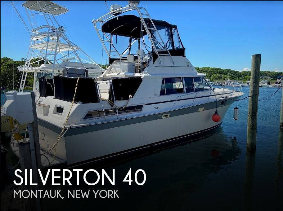 1988 SILVERTON 40 AFT CABIN for sale