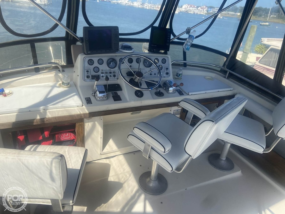 1988 Silverton boat for sale, model of the boat is 40 Aft Cabin & Image # 4 of 19