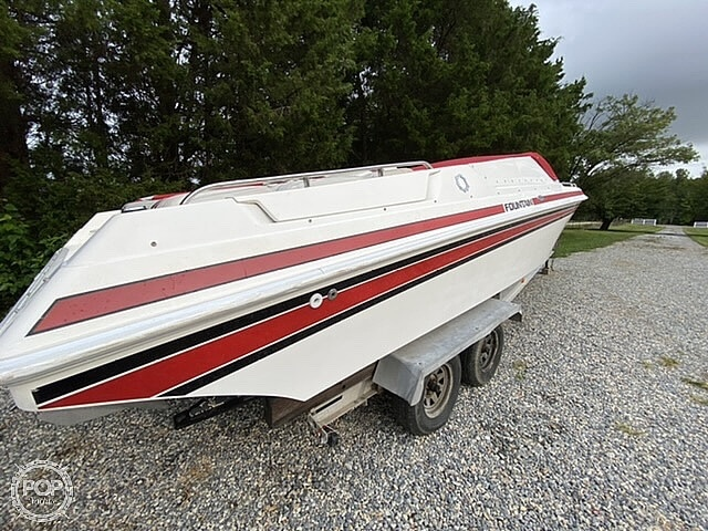 1991 Fountain boat for sale, model of the boat is 27 Fever & Image # 13 of 40