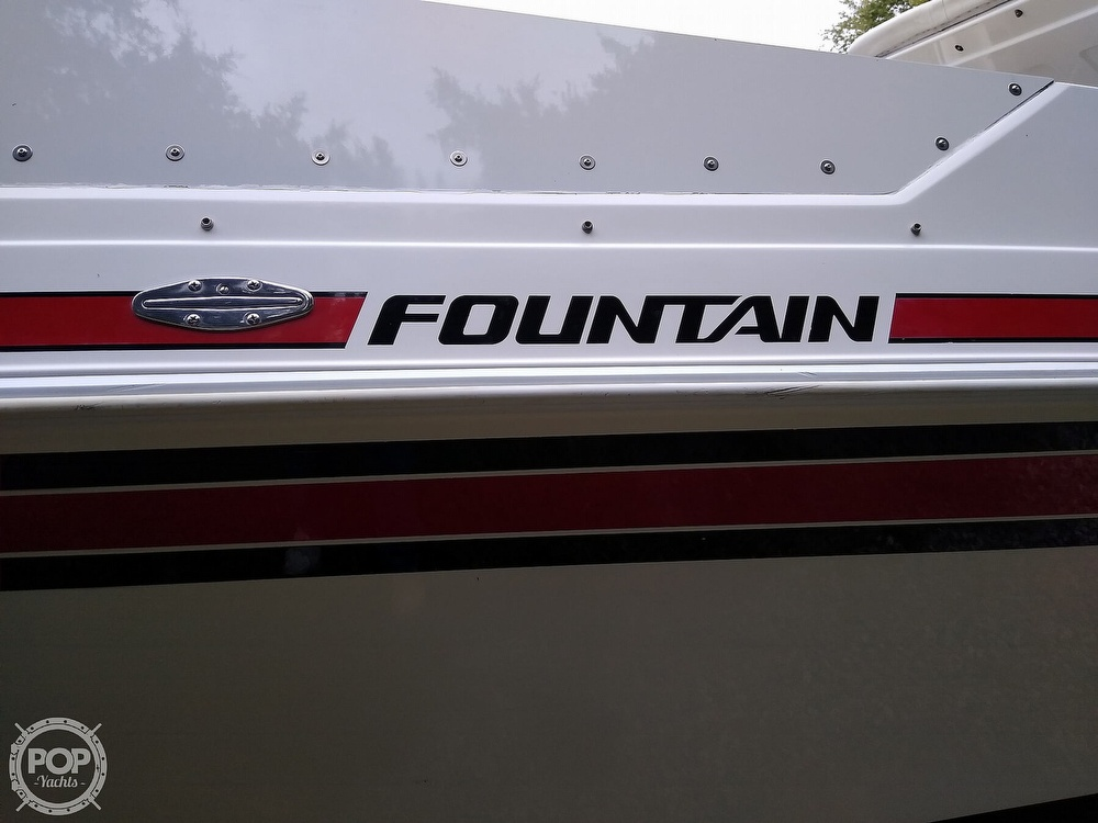 1991 Fountain boat for sale, model of the boat is 27 Fever & Image # 9 of 40
