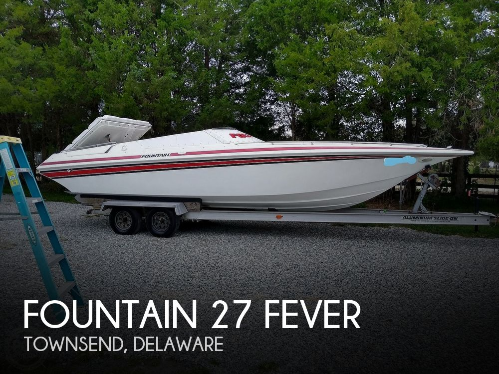 1991 Fountain boat for sale, model of the boat is 27 Fever & Image # 1 of 40