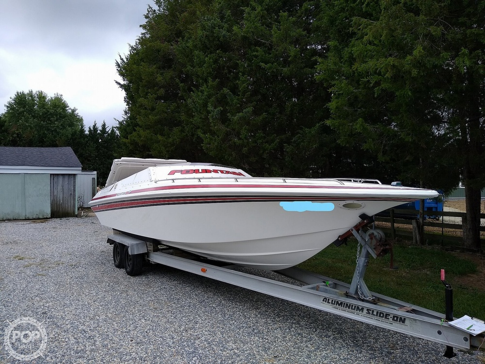 1991 Fountain boat for sale, model of the boat is 27 Fever & Image # 2 of 40
