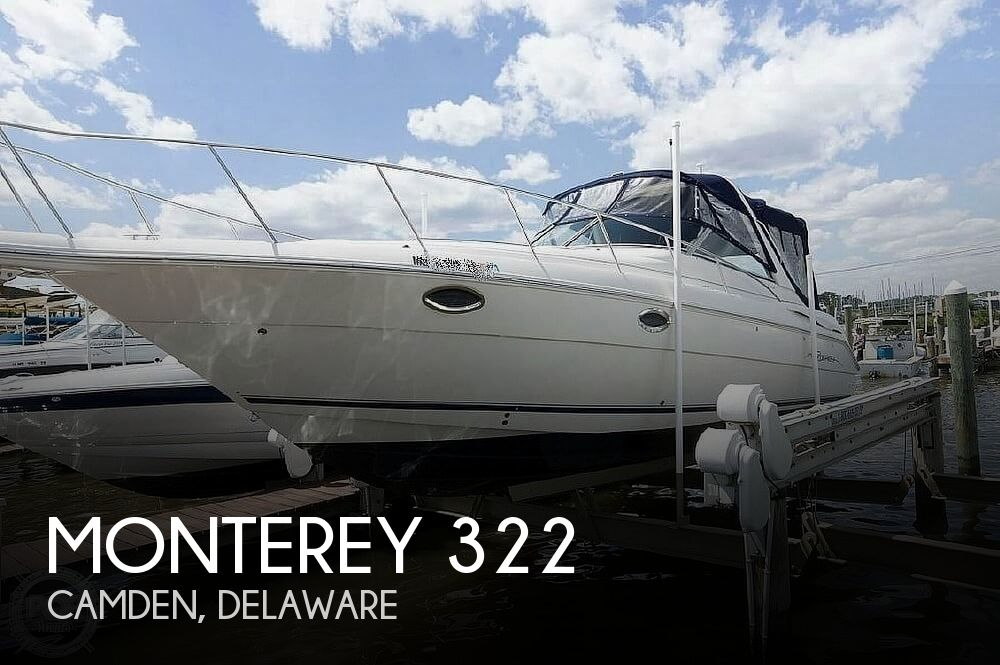 2002 Monterey boat for sale, model of the boat is 322 & Image # 1 of 11