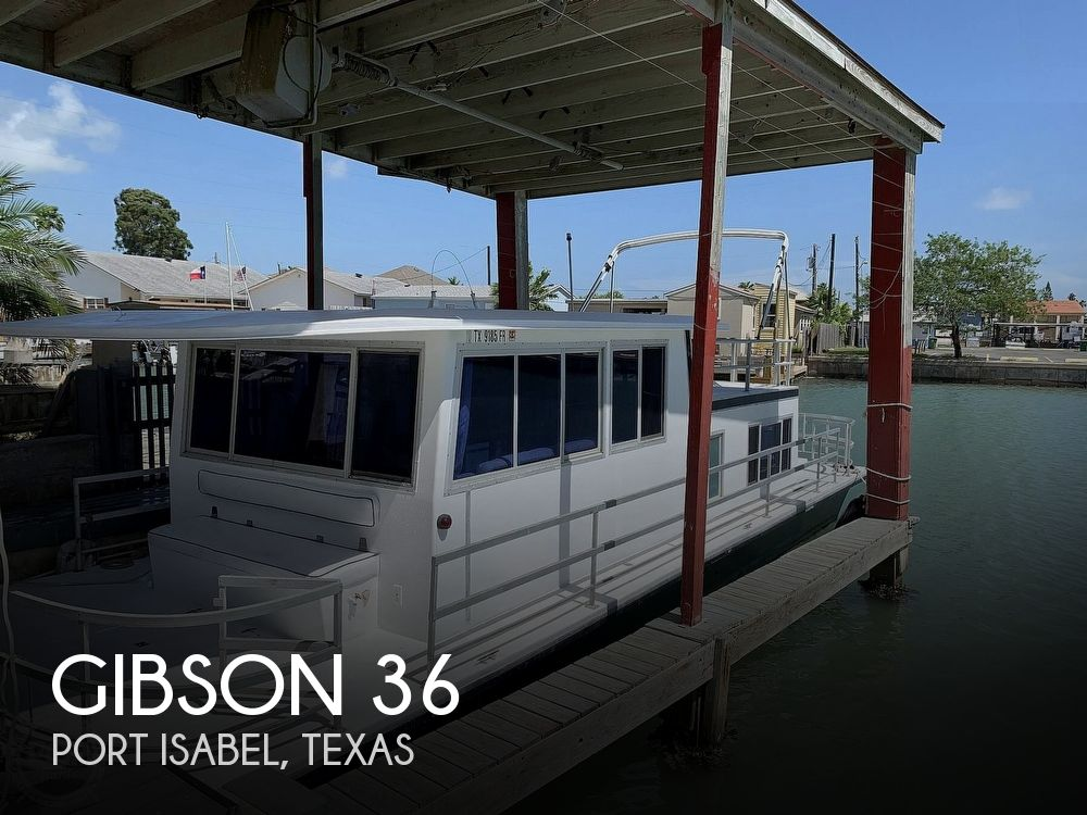 Used GIBSON Houseboats For Sale in Texas by owner | 1975 Gibson 36