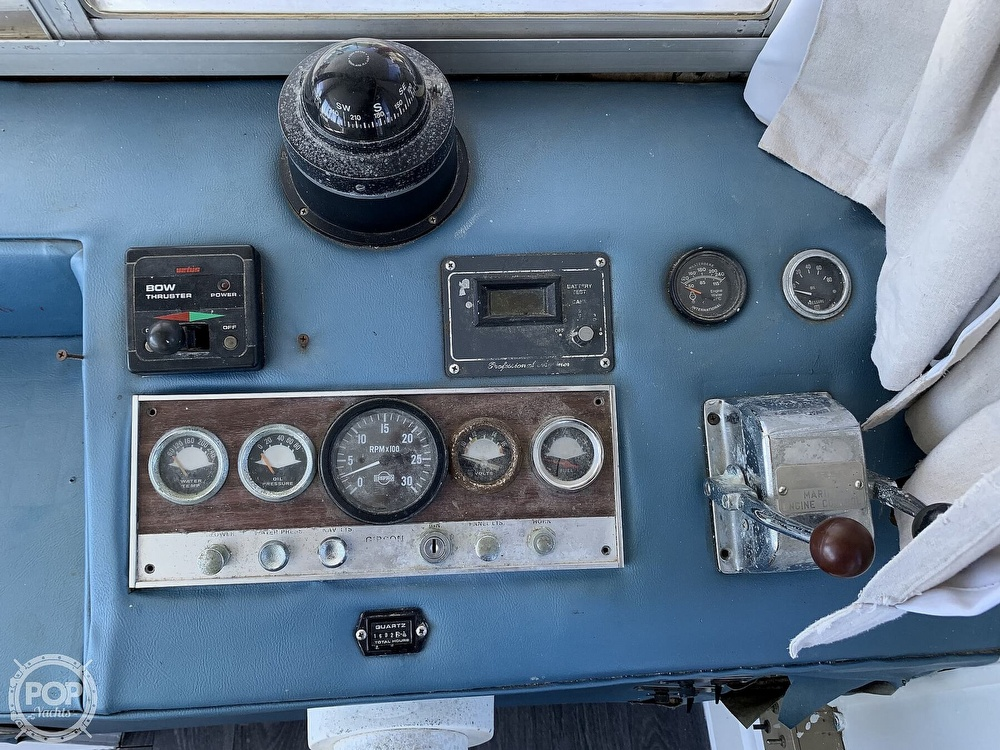 1975 Gibson boat for sale, model of the boat is 36 & Image # 34 of 40
