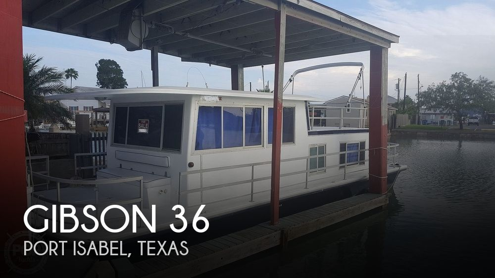 1975 Gibson boat for sale, model of the boat is 36 & Image # 1 of 40
