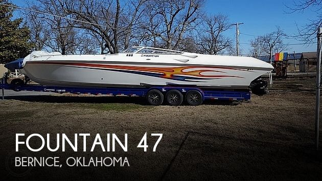 Used Boats For Sale in Tulsa, Oklahoma by owner | 2006 Fountain 47