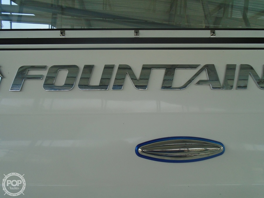 2006 Fountain boat for sale, model of the boat is 47 & Image # 6 of 41