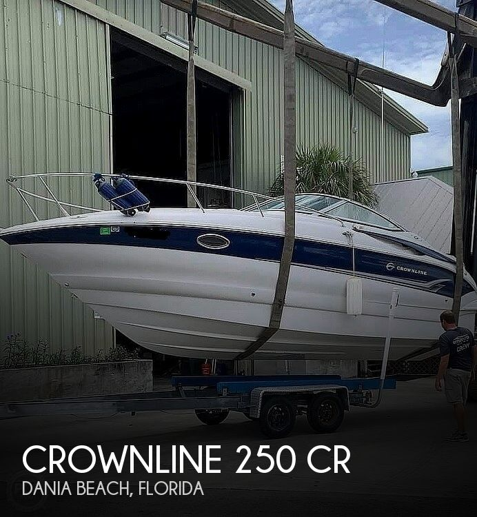 2005 Crownline boat for sale, model of the boat is 250 cr & Image # 1 of 40