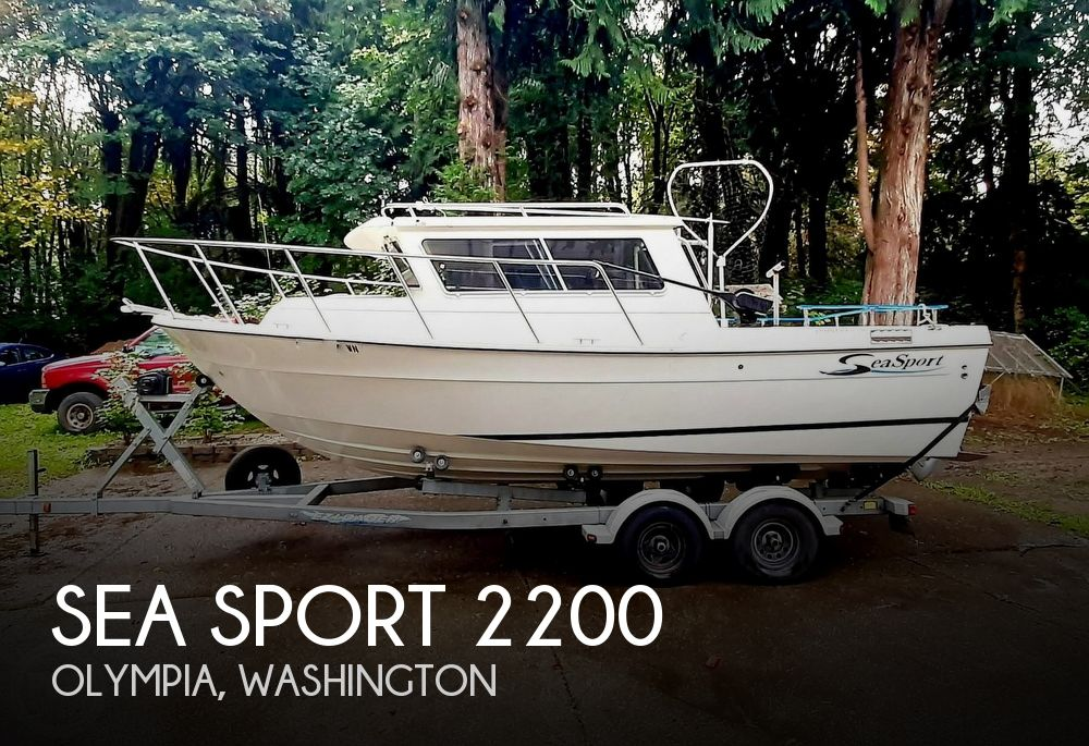 2009 Seasport boat for sale, model of the boat is 2200 Charter Series & Image # 1 of 40