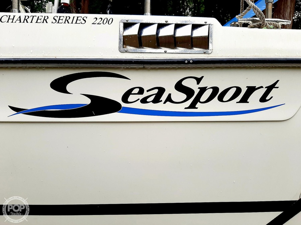 2009 Seasport boat for sale, model of the boat is 2200 Charter Series & Image # 39 of 40