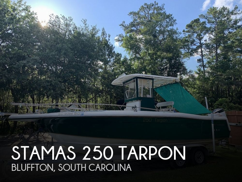 Used Stamas Boats For Sale by owner | 1998 Stamas 250 Tarpon
