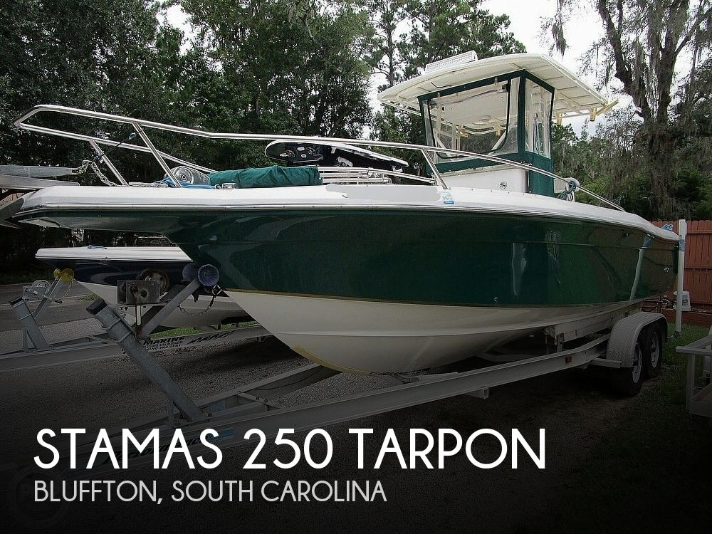 1998 Stamas boat for sale, model of the boat is 250 Tarpon & Image # 1 of 40