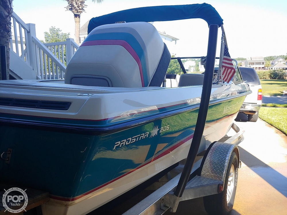 1993 Mastercraft boat for sale, model of the boat is 205 Prostar & Image # 2 of 36