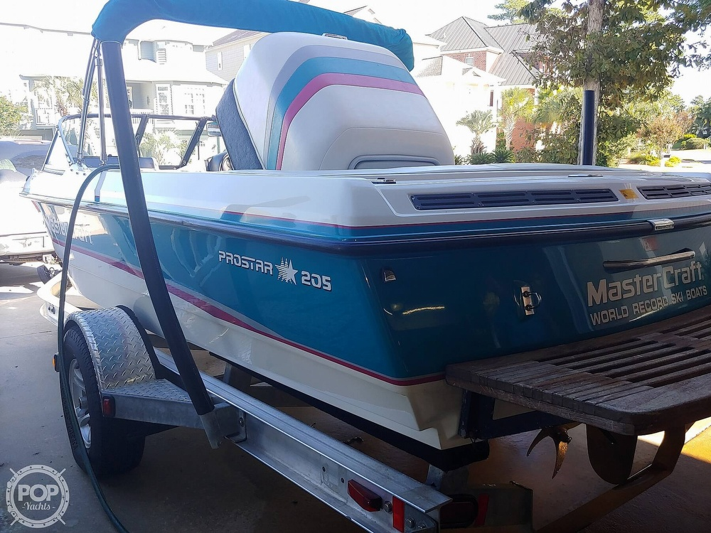 1993 Mastercraft boat for sale, model of the boat is 205 Prostar & Image # 7 of 36