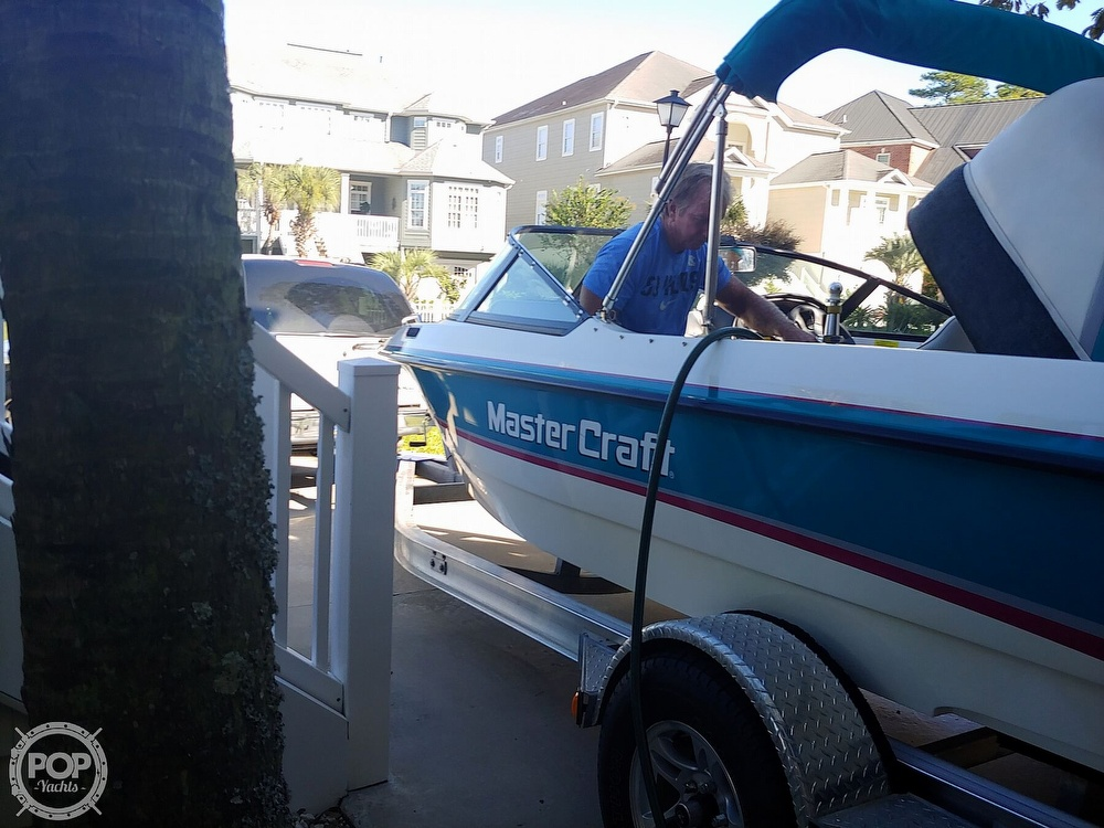 1993 Mastercraft boat for sale, model of the boat is 205 Prostar & Image # 9 of 36