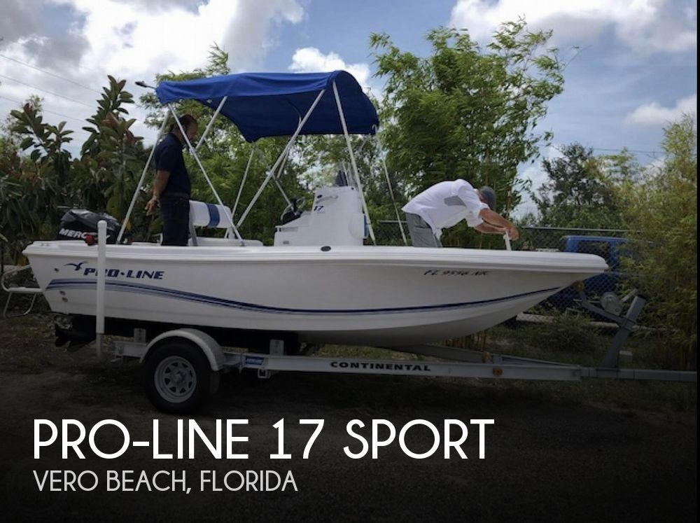2007 Pro-Line boat for sale, model of the boat is 17 Sport & Image # 1 of 1