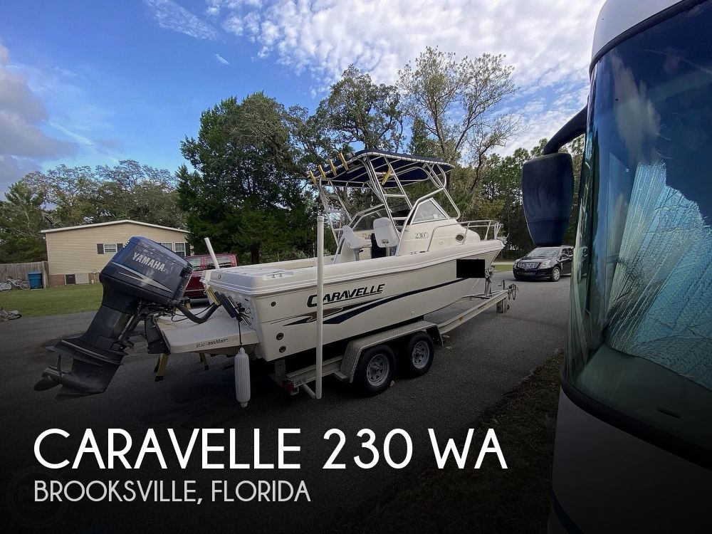 2001 Caravelle boat for sale, model of the boat is 230 WA & Image # 1 of 40