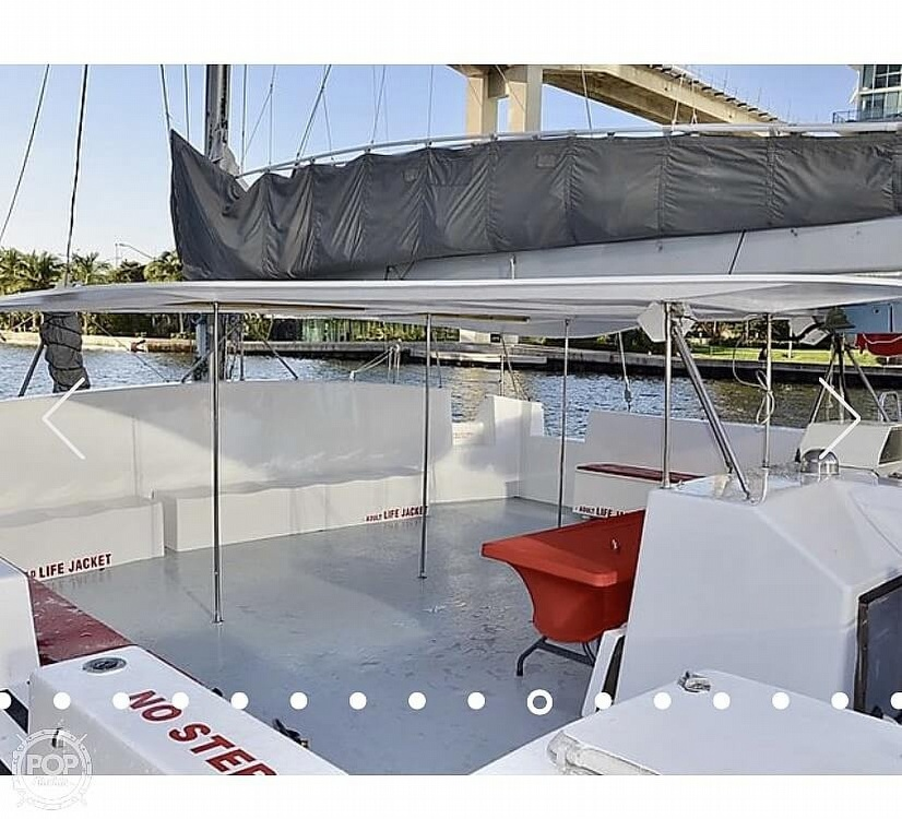 1987 Suncoast boat for sale, model of the boat is 52.5 Custom & Image # 2 of 14