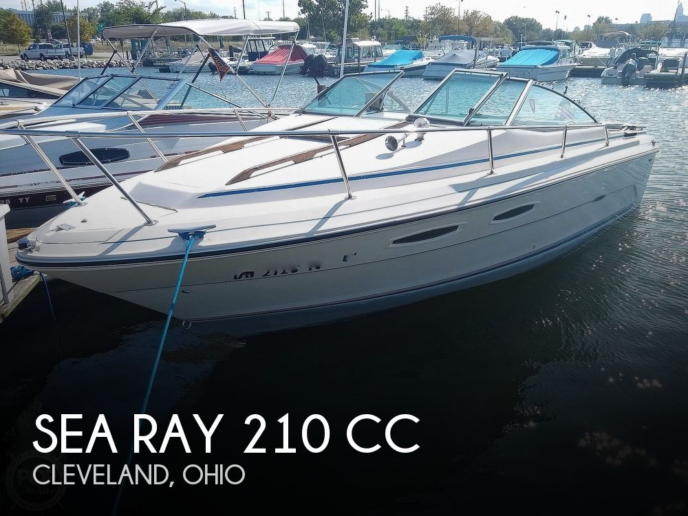 1984 Sea Ray boat for sale, model of the boat is 210 CC & Image # 1 of 40