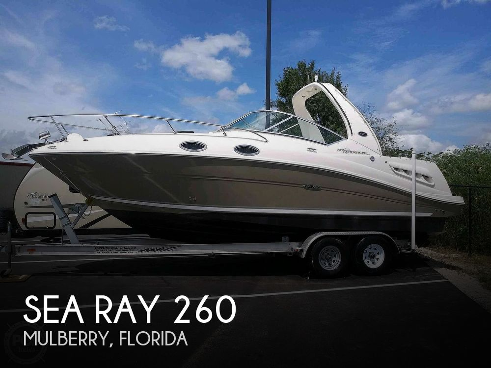 Used Sea Ray Sundancer 260 Boats For Sale by owner | 2006 Sea Ray Sundancer 260