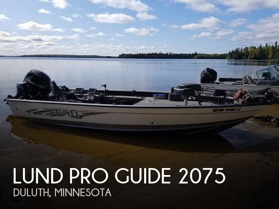 Used Boats For Sale in Duluth, Minnesota by owner | 2016 Lund Pro Guide 2075