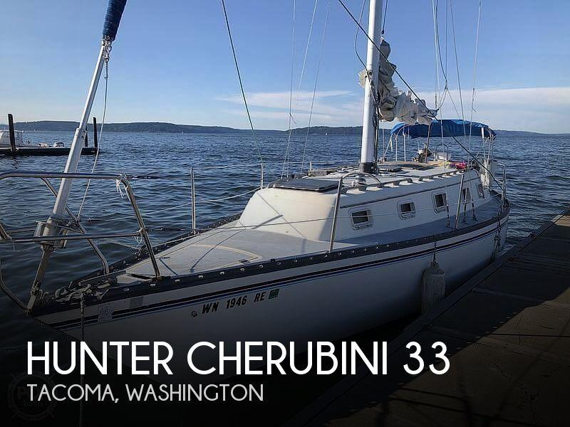 Used Hunter Boats For Sale in Washington by owner   1981 Hunter Cherubini 33