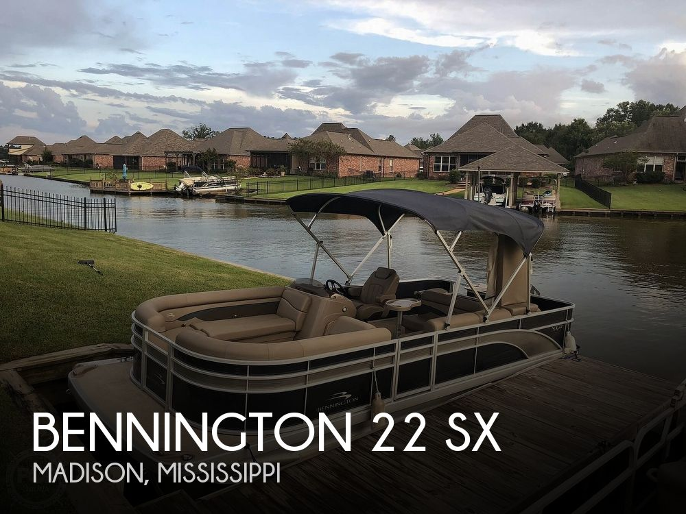2020 Bennington boat for sale, model of the boat is 22 SX & Image # 1 of 41