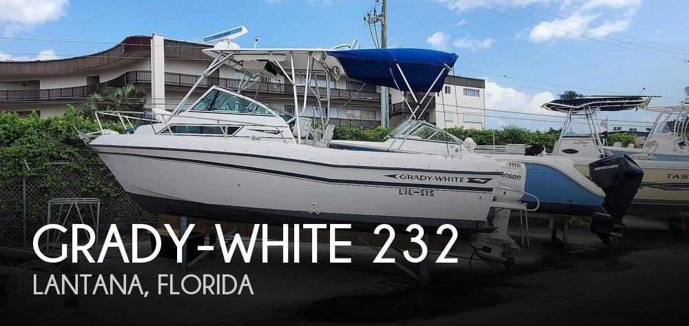1994 Grady-White boat for sale, model of the boat is Gulfstream 232 & Image # 1 of 40