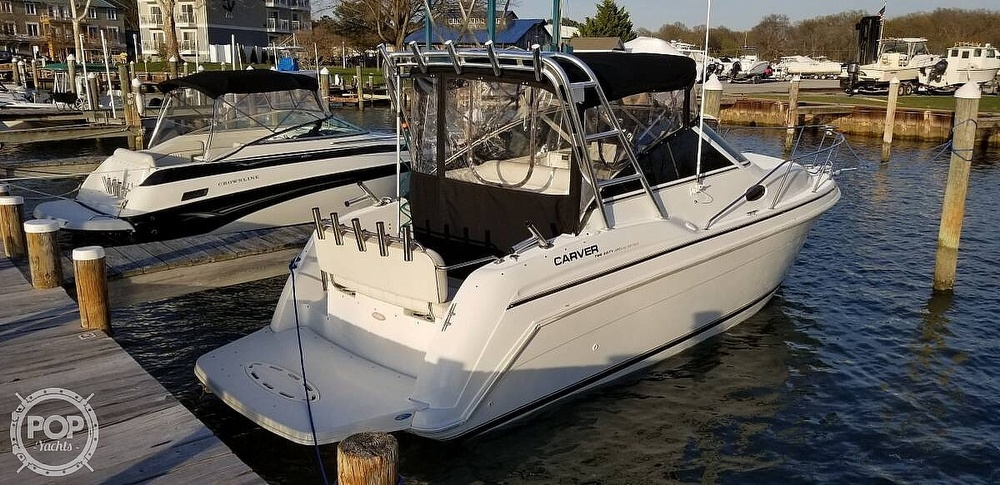 1998 Carver boat for sale, model of the boat is 260 SPECIAL EDITION & Image # 3 of 41