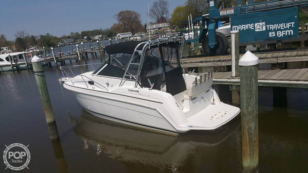 1998 Carver boat for sale, model of the boat is 260 SPECIAL EDITION & Image # 2 of 41