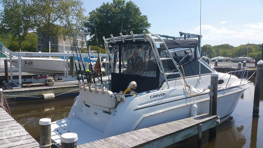 1998 Carver boat for sale, model of the boat is 260 SPECIAL EDITION & Image # 5 of 41