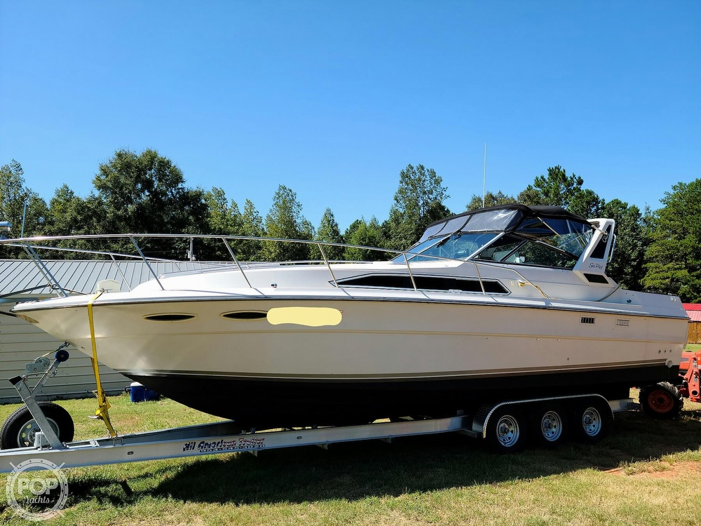 1986 Sea Ray boat for sale, model of the boat is 340 Sundancer & Image # 5 of 40