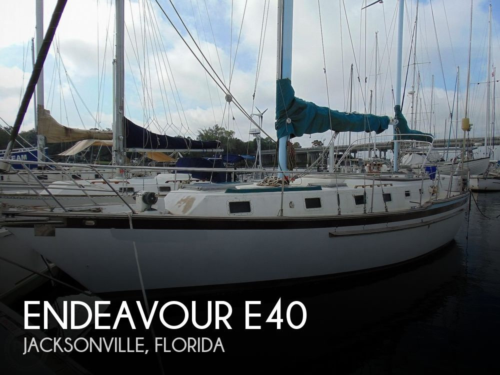 1981 Endeavour boat for sale, model of the boat is E40 & Image # 1 of 40