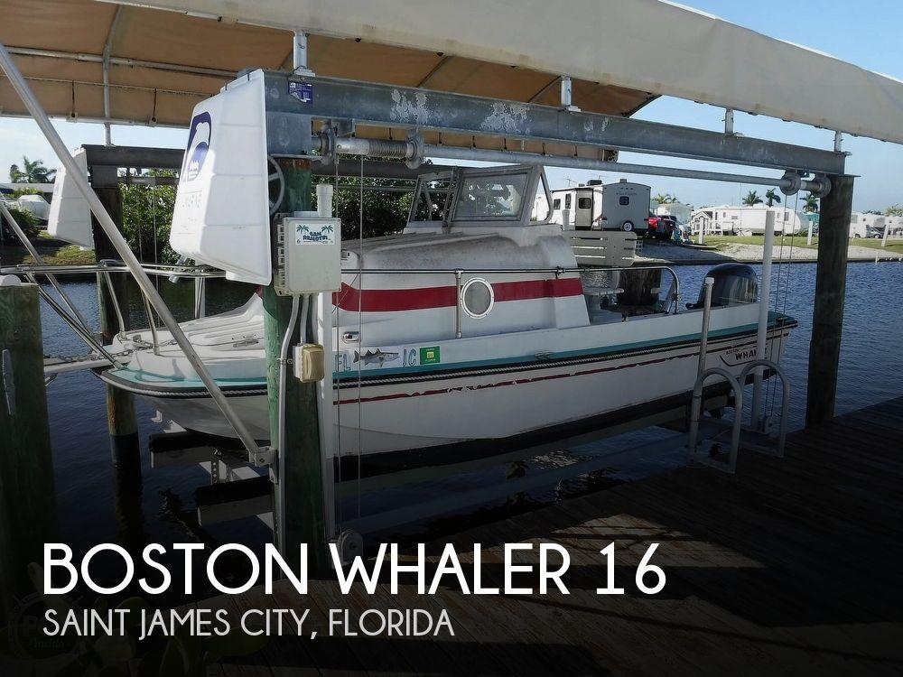 1970 Boston Whaler boat for sale, model of the boat is Menemsha 16 & Image # 1 of 40