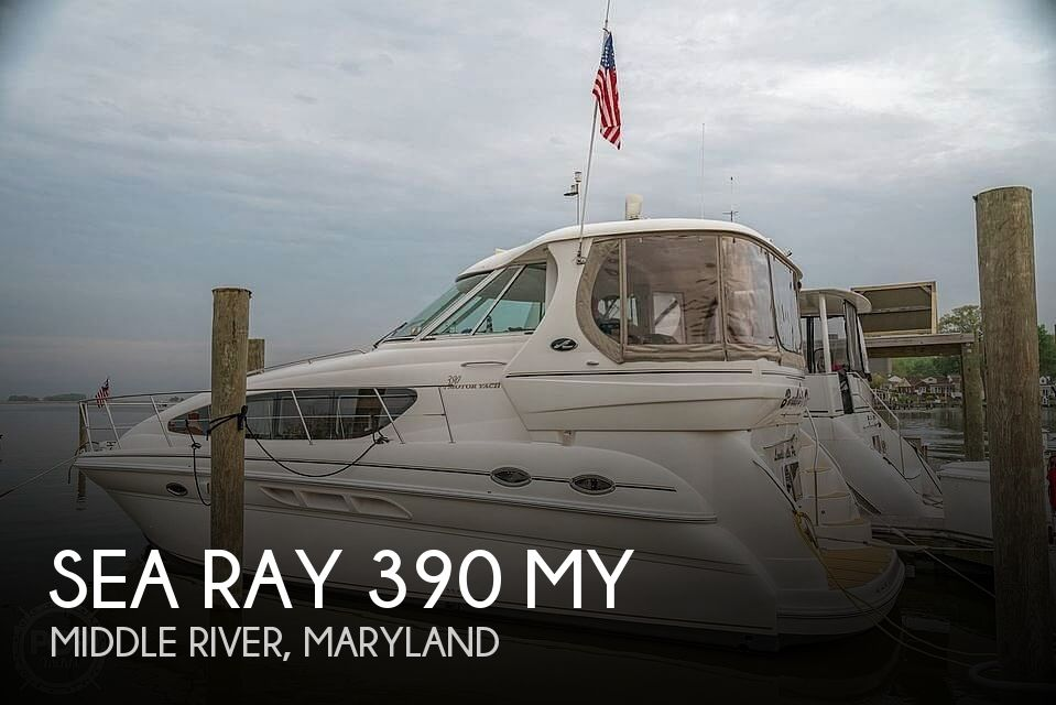 Used Sea Ray Boats For Sale in Maryland by owner | 2003 Sea Ray 390 MY