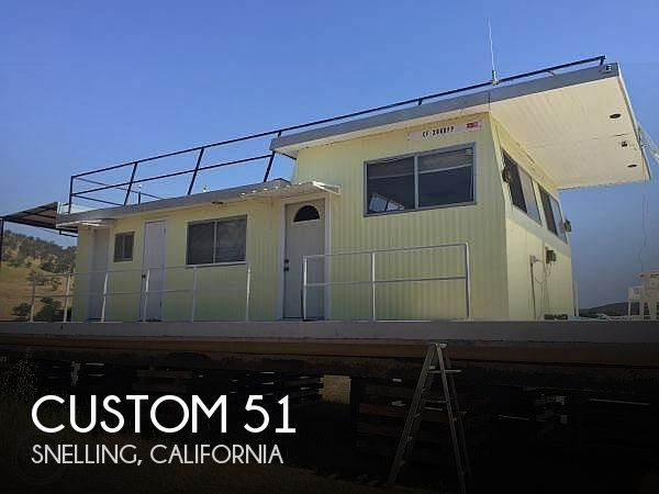 Used Boats For Sale in Fresno, California by owner | 1975 Custom 51