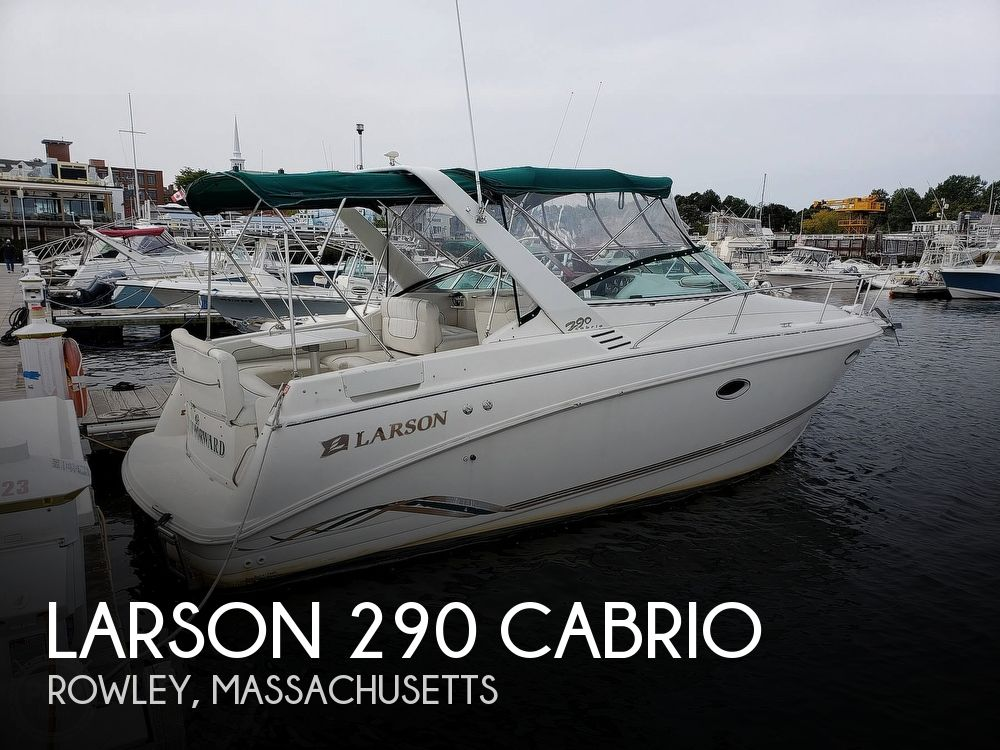 1997 Larson boat for sale, model of the boat is 290 Cabrio & Image # 1 of 40