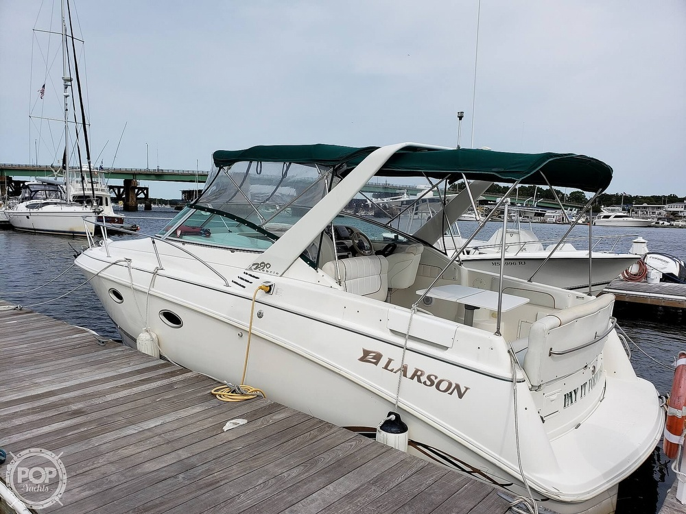 1997 Larson boat for sale, model of the boat is 290 Cabrio & Image # 9 of 40