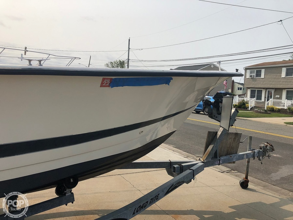 1996 Hydra-Sports boat for sale, model of the boat is 22 Ocean Skiff & Image # 30 of 36