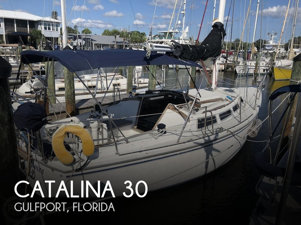1986 Catalina Yachts boat for sale, model of the boat is 30 & Image # 1 of 40
